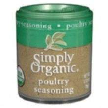Simply Organic Mini Poultry Season Blend (6x.32 Oz)