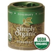 Simply Organic Mini Rosemary Leaf (6x.21 Oz)