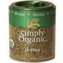 Simply Organic Mini Thyme Leaf (6x.28 Oz)