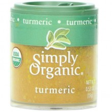 Simply Organic Mini Ground Turmeric (6x.53 Oz)
