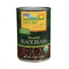 Field Day Black Beans (12x15 Oz)