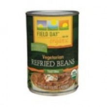 Field Day Vegetarian Refried Beans (12x15 Oz)