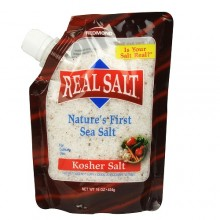 Real Salt Kosher Sea Salt (6x16 Oz)