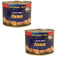 Natural Sea Yellowfin Chunk Light Tuna No Salt (6x66.5 Oz)