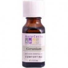 Aura Cacia Geranium Essential Oil (1x0.5Oz)