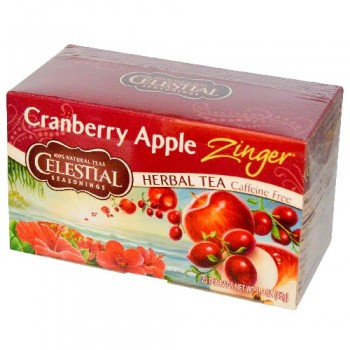 Celestial Seasonings Cranberry Apple Zinger Herb Tea (6x20bag)