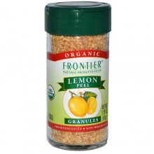 Frontier Herb Lemon Peel Granules (1x2.10 Oz)