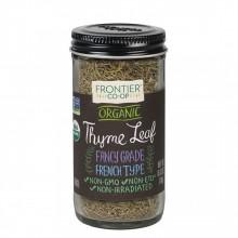 Frontier Herb Whole Organic Thyme Leaf (1x.8 Oz)