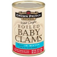 Crown Prince Boiled Baby Clams (12x10 Oz)