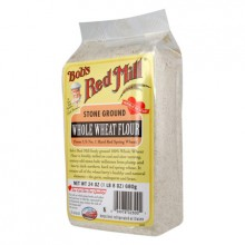 Bob's Whole Wheat Flour ( 4x5lb)