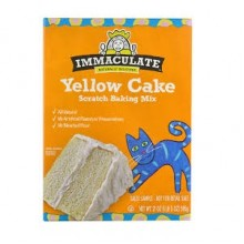 Immaculate Baking Co. Cake, Yellow (8x21 OZ)