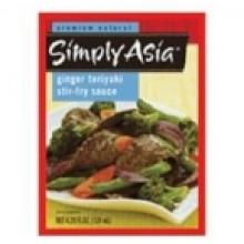 Simply Asia Ginger Teriyaki Stir Fry Sauce (6x4.2 Oz)