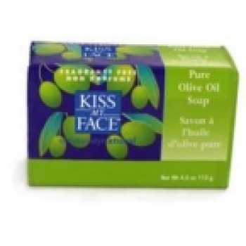 Kiss My Face Pure Olive Oil Bar Soap (1x4 Oz)