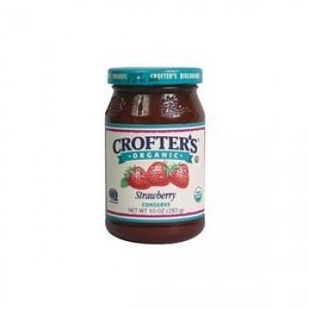 Crofters Strawberry Conserves (6x10 Oz)