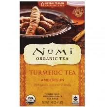 Numi Tea Amber Sun,Robois,Cinn,Vanilla (6x12 BAG)