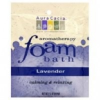 Aura Cacia Lavender Foam Bath (6x2.5 Oz)