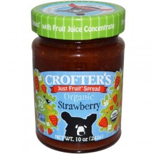 Crofters Strawberry Fruit Spread (6x10 Oz)