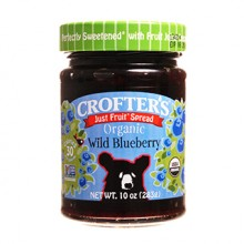 Crofters Wild Blueberry Fruit Spread (6x10 Oz)