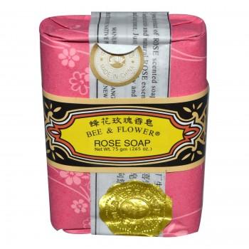 Bee & Flower Rose Bee & Flower Soap (12x2.65 Oz)