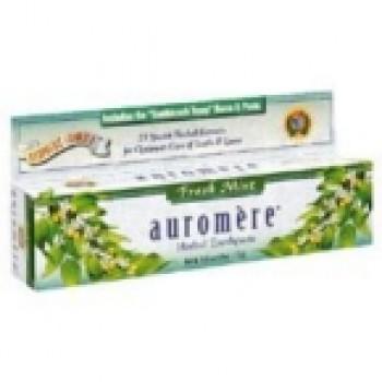 Auromere Freshmint Herbal Toothpaste (12x4.16 Oz)