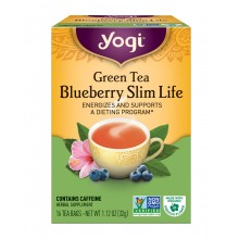 Yogi Green Slim Life Weight Tea (6x16 Bag)