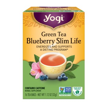 Yogi Green Slim Life Weight Tea (6x16 Bag)