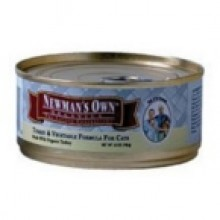 Newman's Own Turkey & vegetable Cat Food (24x5.5 Oz)