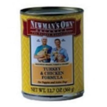 Newman's Own Turkey & Chicken Dog Food (12x12.7 Oz)