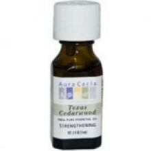 Aura Cacia Cedarwood Essential Oil (0.5Oz)