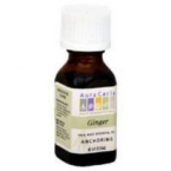 Aura Cacia Ginger Essential Oil (0.5Oz)