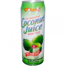 Amy & Brian Natural Coconut Juice With Pulp (12x17.5 Oz)