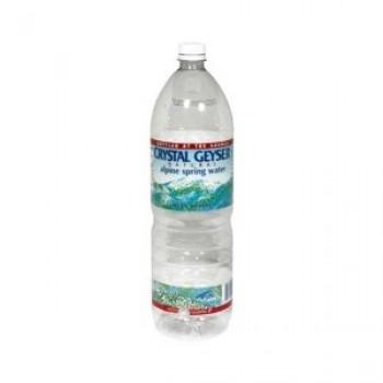 Crystal Geyser Alpine Spring Water Plastic 1.5 Liter (12x50.7 Oz)