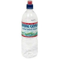 Crystal Geyser Alpine Spring Water Sport Top (15x1 LTR)