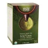 Rishi Tea Matcha Super Green (6x15 BAG)