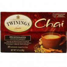 Twinings Chai Decaffeinated (6x20 CT)