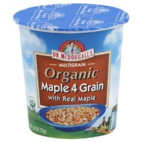 Dr. McDougall's Maple 4 Grain Hot Cereal Cup (6x2.5 Oz)