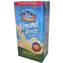 Blue Diamond Original Almond Breeze Unsweetened (12x32 Oz)