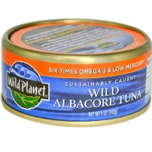 Wild Planet Wild Albacore Tuna Low Mercury (12x5 Oz)