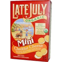Late July Mini Cheeze Sandwich Cracker (12x5 Oz)