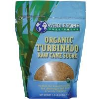 Wholesome Sweeteners Turbinado Demerara Sugar (1x25lb)