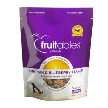 Fruitables Pumpkin & Blueberry Mix Dog Treats (8x7 Oz)