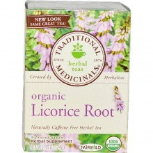Traditional Medicinals Licorice Root Herb Tea (6x16 Bag)