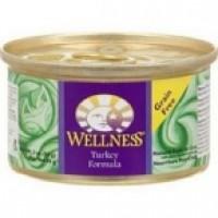 Wellness Canned Turkey Cat Food (24x5.5 Oz)