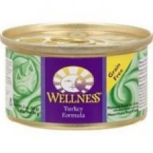 Wellness Canned Turkey Cat Food (24x5.5 Oz)
