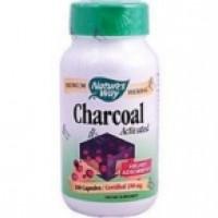 Nature's Way Activated Charcoal Int C (1x100 CAP)
