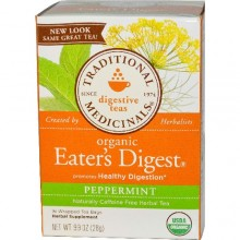 Traditional Medicinals Eater's Digest Herb Tea (6x16 Bag)