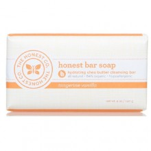 The Honest Co Bar Soap, Tangerine Vanilla (1x5 OZ)