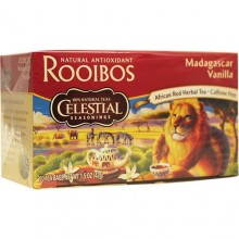 Celestial Seasoning Madagascar Vanilla Red Herb Tea (6x20 bag)