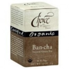 Choice Organic Teas Bancha Hojika Tea (6x16 Bag)