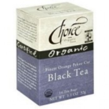 Choice Organic Teas Ft Black Tea (6x16 Bag)